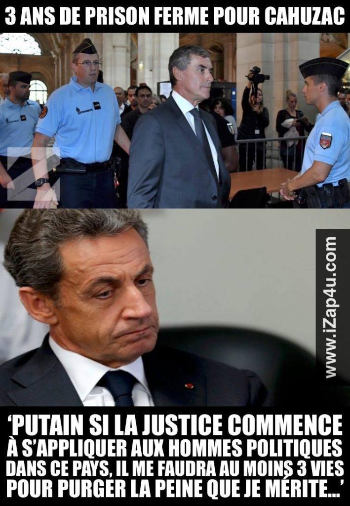 Sarkozy 3 vies FB